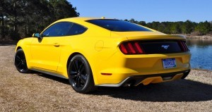 2015 Ford Mustang EcoBoost in Triple Yellow 27