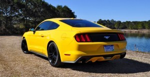 2015 Ford Mustang EcoBoost in Triple Yellow 28