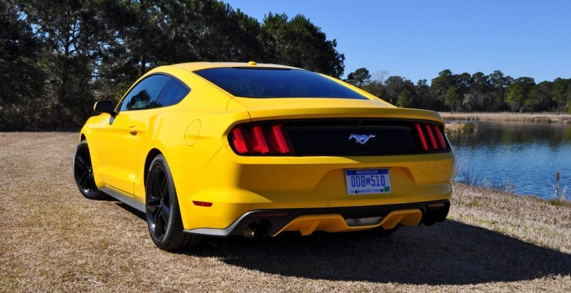 2015 Ford Mustang EcoBoost in Triple Yellow 29