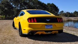 2015 Ford Mustang EcoBoost in Triple Yellow 30