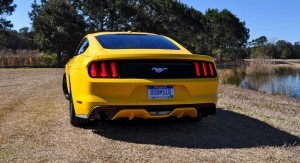 2015 Ford Mustang EcoBoost in Triple Yellow 31