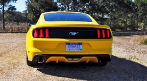 2015 Ford Mustang EcoBoost in Triple Yellow 32
