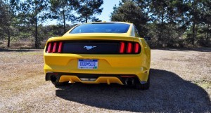 2015 Ford Mustang EcoBoost in Triple Yellow 35
