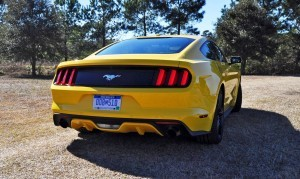 2015 Ford Mustang EcoBoost in Triple Yellow 36