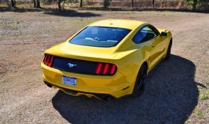 2015 Ford Mustang EcoBoost in Triple Yellow 39