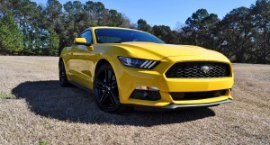 2015 Ford Mustang EcoBoost in Triple Yellow 42