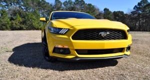 2015 Ford Mustang EcoBoost in Triple Yellow 44