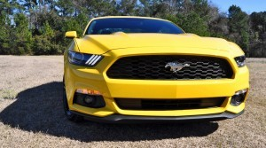 2015 Ford Mustang EcoBoost in Triple Yellow 45