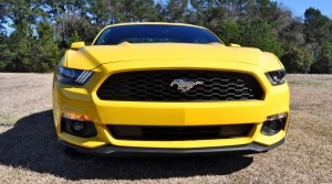 2015 Ford Mustang EcoBoost in Triple Yellow 46