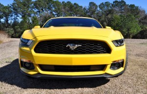 2015 Ford Mustang EcoBoost in Triple Yellow 47