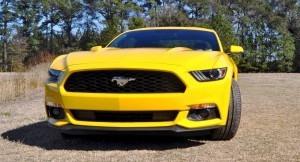 2015 Ford Mustang EcoBoost in Triple Yellow 5