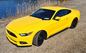 2015 Ford Mustang EcoBoost in Triple Yellow 51