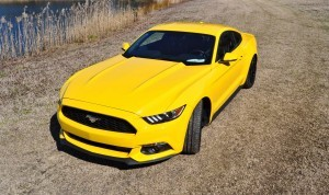 2015 Ford Mustang EcoBoost in Triple Yellow 55