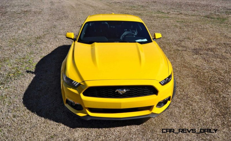 2015 Ford Mustang EcoBoost in Triple Yellow 60