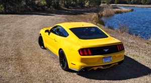 2015 Ford Mustang EcoBoost in Triple Yellow 63