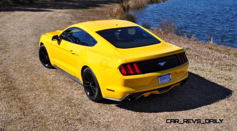 2015 Ford Mustang EcoBoost in Triple Yellow 64