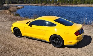 2015 Ford Mustang EcoBoost in Triple Yellow 69