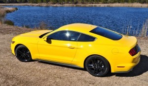 2015 Ford Mustang EcoBoost in Triple Yellow 70