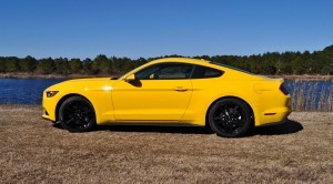 2015 Ford Mustang EcoBoost in Triple Yellow 72