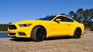 2015 Ford Mustang EcoBoost in Triple Yellow 77