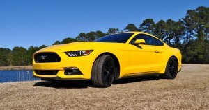 2015 Ford Mustang EcoBoost in Triple Yellow 78