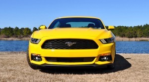 2015 Ford Mustang EcoBoost in Triple Yellow 86