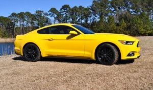 2015 Ford Mustang EcoBoost in Triple Yellow 93