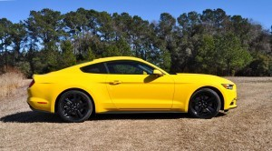 2015 Ford Mustang EcoBoost in Triple Yellow 97