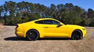 2015 Ford Mustang EcoBoost in Triple Yellow 98