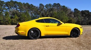 2015 Ford Mustang EcoBoost in Triple Yellow 99