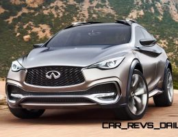 2015 Infiniti QX30 Concept Revealed For Geneva – Coming Next Year Priced From $35k