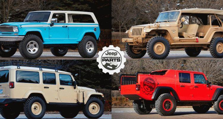 2015 JEEP Moab Easter Safari Concepts