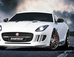 2015 Jaguar F-Type by STARTECH Packs Deeper Front Bumper, Carbon-Fiber Aero and Rifled Exhaust Pipes