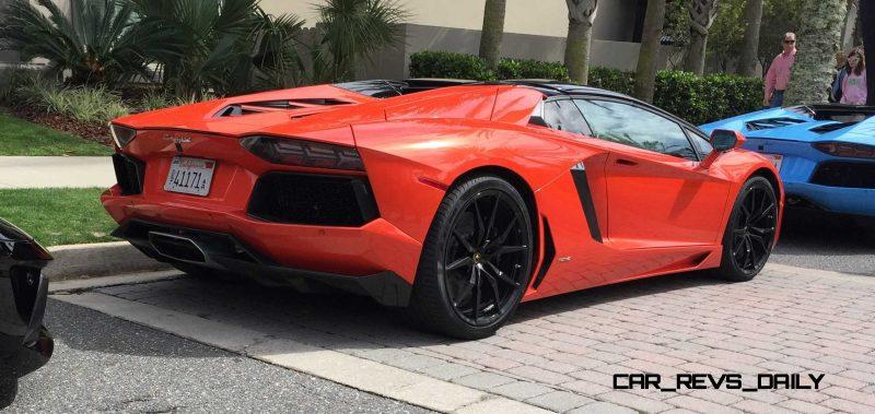 2015 Lamborghini Aventador Roadster 15