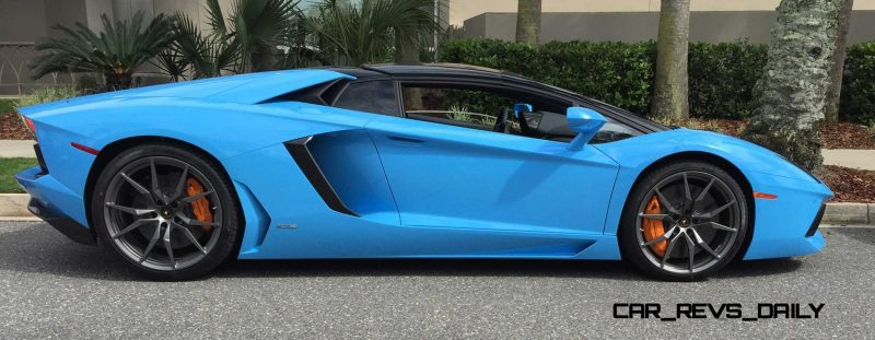 2015 Lamborghini Aventador Roadster  7