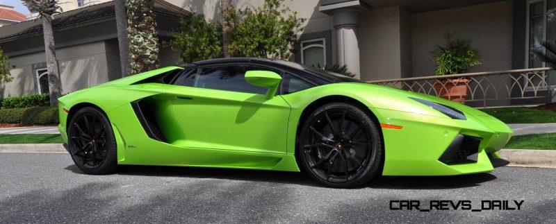 2015 Lamborghini Aventador Roadster  70