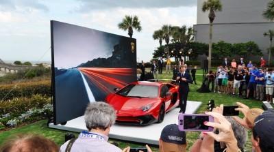 2015 Lamborghini Aventador SV USA Reveal 1