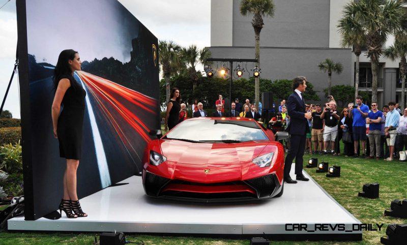 2015 Lamborghini Aventador SV USA Reveal 11