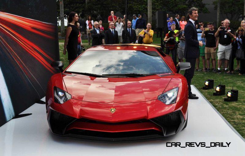 2015 Lamborghini Aventador SV USA Reveal 12