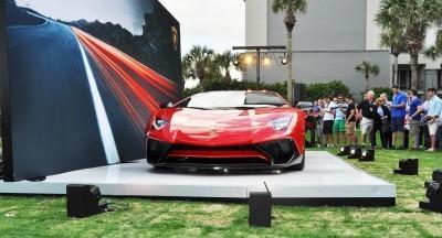 2015 Lamborghini Aventador SV USA Reveal 16