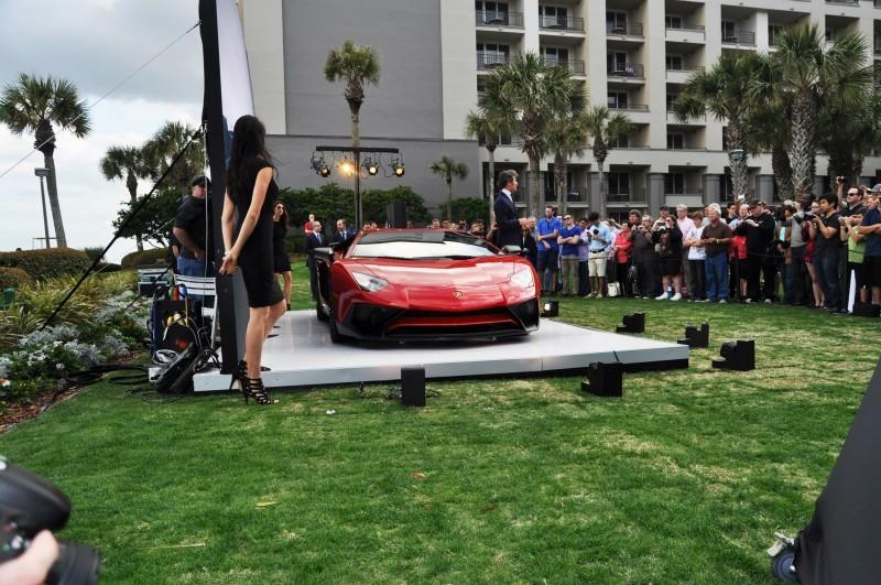 2015 Lamborghini Aventador SV USA Reveal 2