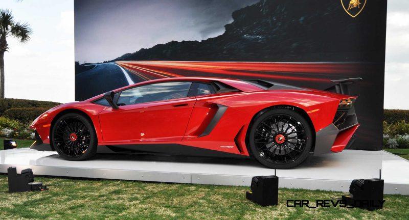 2015 Lamborghini Aventador SV USA Reveal 25