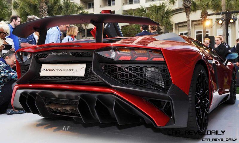 2015 Lamborghini Aventador SV USA Reveal 41