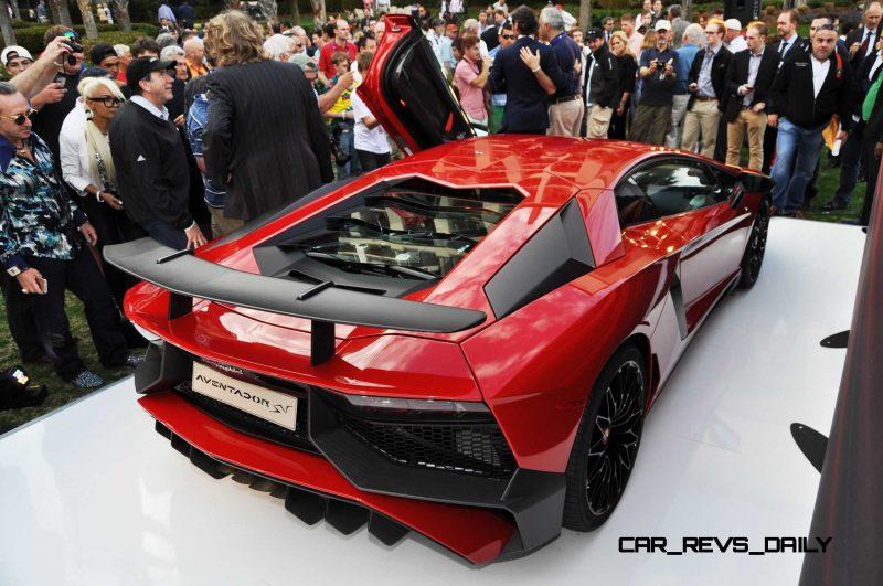 2015 Lamborghini Aventador SV USA Reveal 43