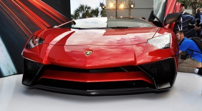 2015 Lamborghini Aventador SV USA Reveal 44