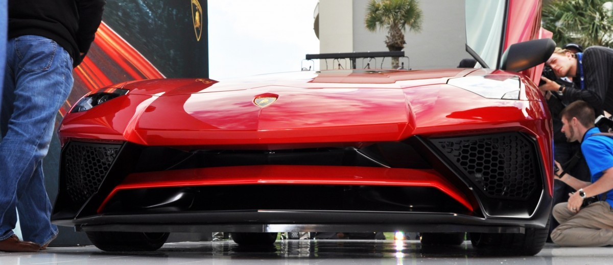 2015 Lamborghini Aventador SV USA Reveal 48