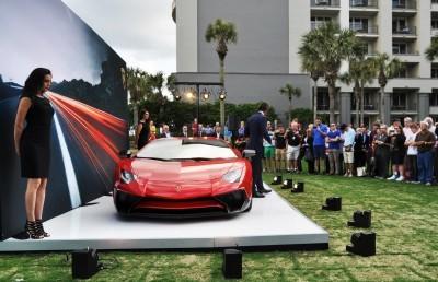 2015 Lamborghini Aventador SV USA Reveal 8