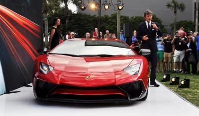 2015 Lamborghini Aventador SV USA Reveal 9