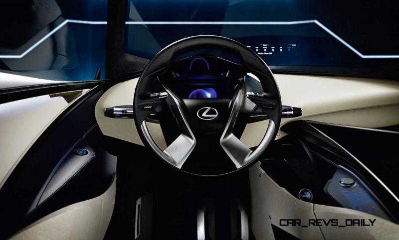 2015 Lexus LF-SA Concept 12