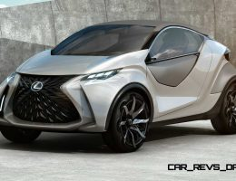 2015 Lexus LF-SA Concept Explores Mini Crossover Coupe of the Future